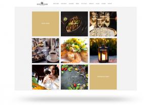 Mobilvenlig hjemmeside i app look a like design