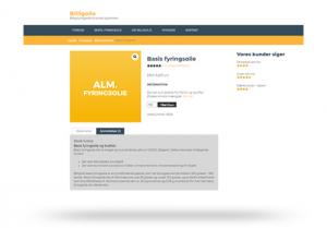 Billigolie - Woocommerce bestillings system